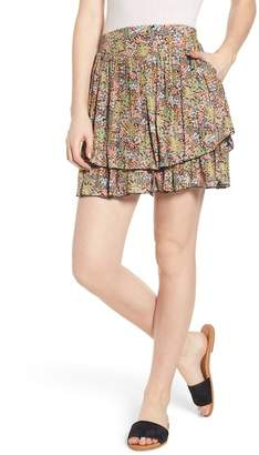 Scotch & Soda Double Layer Miniskirt
