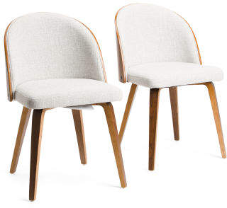 Set Of 2 Luna Dining Chairs
