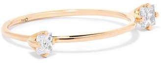 Saskia Diez Dirty Gold Diamond Ring