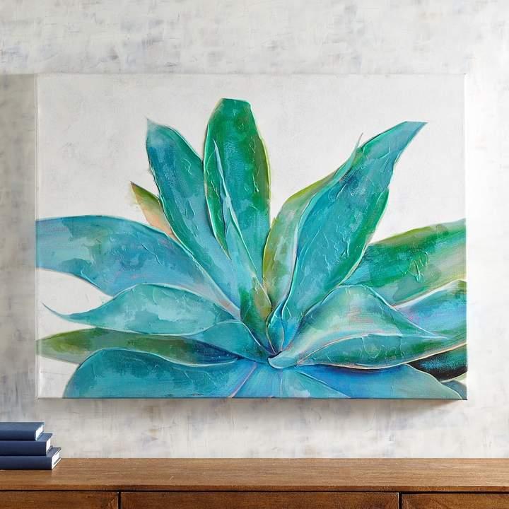 Succulent Perspective Art