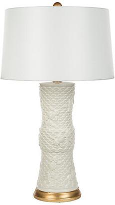 Barclay Butera For Bradburn Home Koi Fish Table Lamp - Cream/Gold