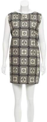 Fausto Puglisi Printed Silk Dress