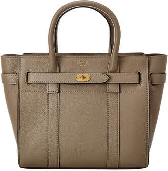 Mulberry Bayswater Mini Zipped Leather Tote