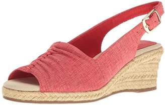 Easy Street Shoes Women's Kindly Espadrille Wedge Sandal