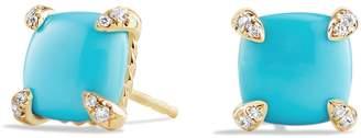 David Yurman 'Chatelaine' Earrings with Semiprecious Stones in 18K Gold