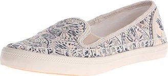 Roxy Women's Malibu Espadrille Slip on Shoe Flat $26.87 thestylecure.com