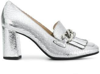 Högl chunky heel chain pumps