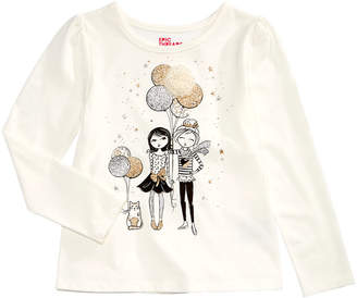 Epic Threads Little Girls Long-Sleeve T-Shirt, Created for Macy's