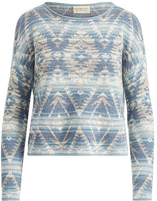 Ralph Lauren Denim & Supply Southwestern Cotton Sweater $98 thestylecure.com