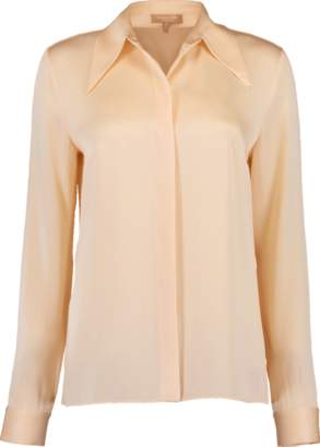 Michael Kors Satin Button Down Shirt