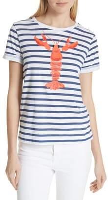 Kate Spade Lobster Stripe Tee