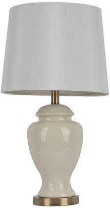 J. Hunt JHUNT HOME Dcor Therapy Ceramic Table Lamp