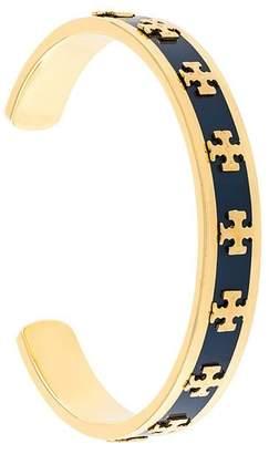 Tory Burch (トリー バーチ) - Tory Burch enamelled raised-logo cuff