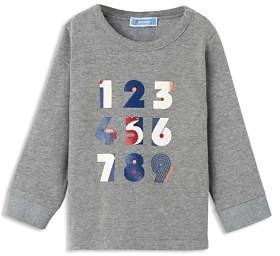 Jacadi Boys' Number-Graphic Long-Sleeve Tee - Baby