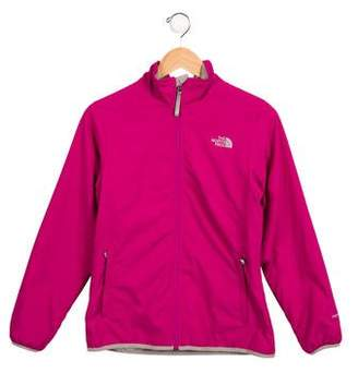 The North Face Girls' Logo Lightweight Jacket