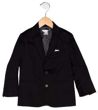 Little Marc Jacobs Boys' Notch-Lapel Button-Up Blazer