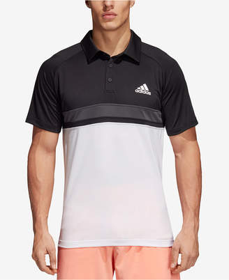 adidas Men's Club ClimaLite Colorblocked Polo