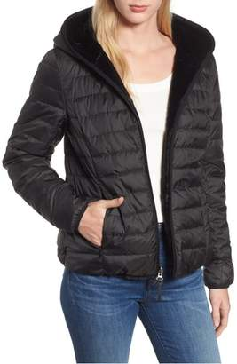 Andrew Marc Reversible Packable Faux Fur Jacket
