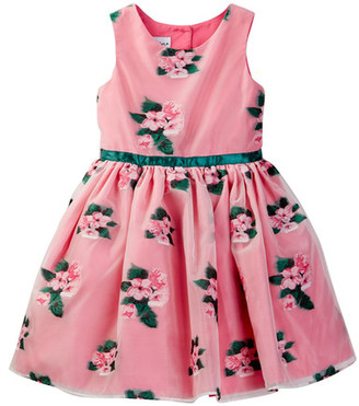 Pippa & Julie Floral Dress (Toddler & Little Girls) $74 thestylecure.com