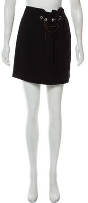 Loewe Embellished Mini Skirt