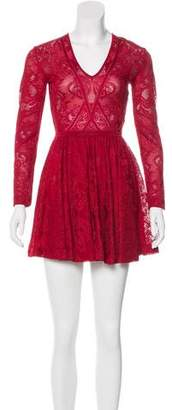 Murad Zuhair Mini Lace Dress