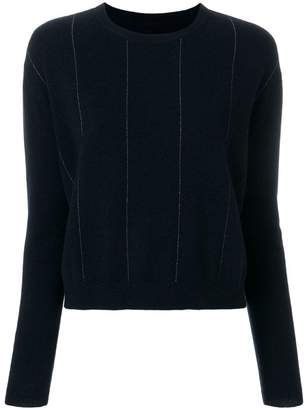 N.Peal cashmere Chain embellished sweater