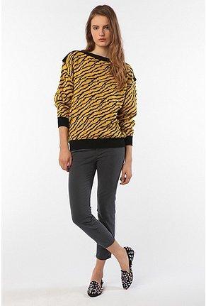 Vintage '80s Tiger Print Sweater