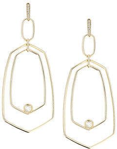 Kendra Scott Tra Geometric Drop Earrings
