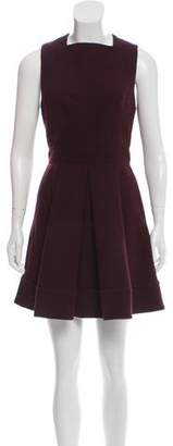 Proenza Schouler Wool-Blend Mini Dress