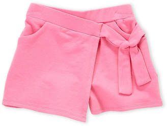 Art & Eden (Girls 4-6x) Pink Lilly Tie-Waist Skort