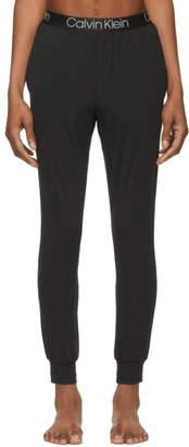 Calvin Klein Underwear Black Ultra-Soft Lounge Pants
