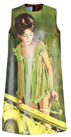 Prada Sleeveless cotton dress