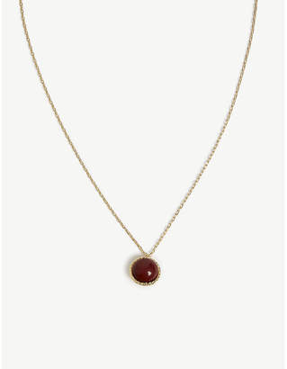 Maje Necklace with natural stone
