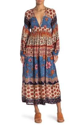 Raga Sun Daze Plunge V-Neck Dress