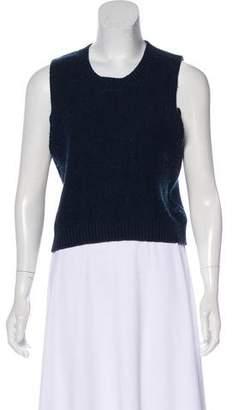 Frame Sleeveless Knit Sweater
