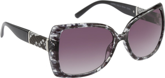 Women's RocaWear R3191 Animal Print Cat Eye Sunglasses $54.95 thestylecure.com
