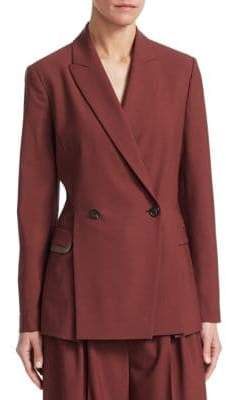 Brunello Cucinelli Pleated Blazer
