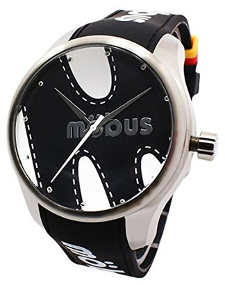 a5a462389c3b Mobus (モーブス) - 腕時計 メンズ mobus モーブス 20気圧防水 ステッチデザイン 黒