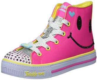 Skechers Girls' Shuffles-Sparkle Smile Sneaker