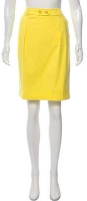 Rena Lange Knee-Length Pencil Skirt