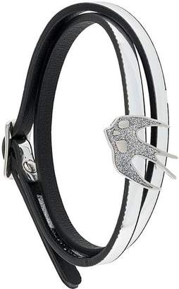 McQ swallow wrap bracelet
