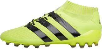 adidas Mens ACE 16.1 Primeknit AG Football Boots Solar Yellow/Core Black/Silver Metallic