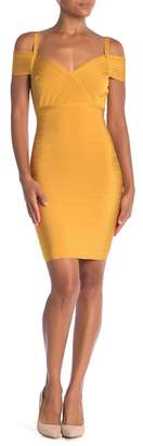 Wow Couture Short Sleeve Bandage Dress