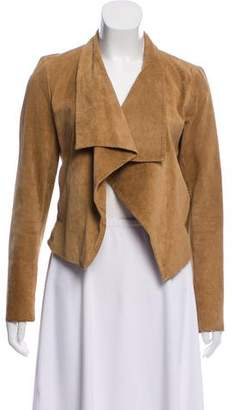 Theory Open Front Suede Jacket