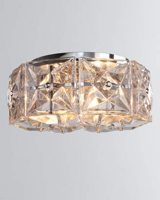 Crystorama Collins 4-Light Polished Chrome Ceiling Mount
