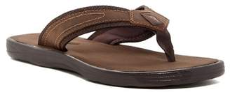 b0cd88a3d403 Tommy Bahama Sumatraa Leather Flip Flop - Wide Width