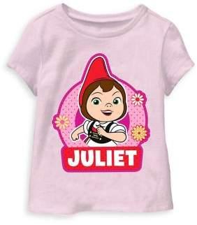 Sherlock Gnomes Little Girl's Juliet Gnome Tee