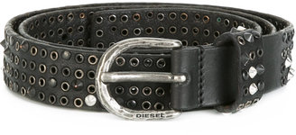 Diesel studded belt $210.41 thestylecure.com