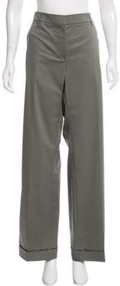 Gunex Mid-Rise Wide-Leg Pants w/ Tags