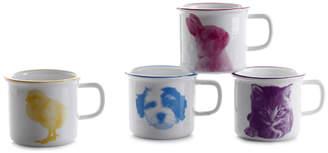 Maia Ming Designs Baby Animal Mugs - set of 4